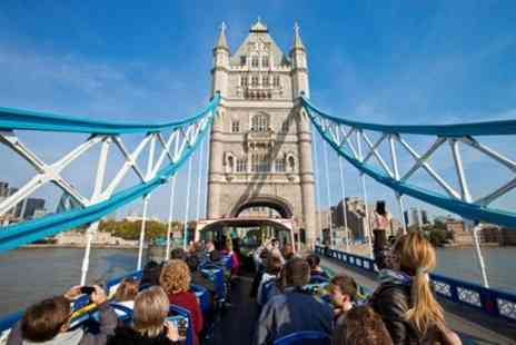 The Original London Sightseeing Tour - London Hop On Hop Off Bus and London Eye Ticket - Save 0%