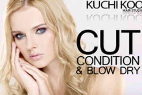 Kuchi Koo Hair Studio - Make a style statement with 74 off a cut, condition and blow dry - Save 74%