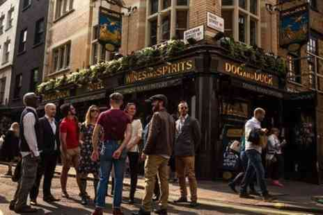 Urban Adventures United Kingdom - Small Group Historic Pubs Walking Tour in Soho - Save 0%