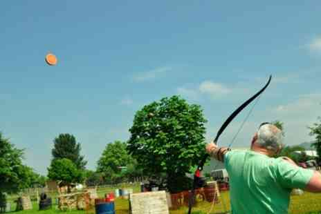 Battle Archery - 90 Minute Aerial Archery Experience for One or Two - Save 56%