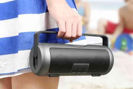 Groupon Goods Global GmbH - Kocaso Portable Wireless Bluetooth Grip Speaker - Save 0%
