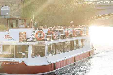 City Cruises - Ghosts of York Historic Cruise, Interactive Fun with Award Winning Entertainment - Save 25%