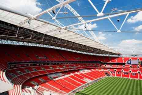 Wembley National Stadium - guided tour for 2 at Wembley Stadium - Save 50%