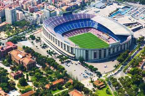 World Choice Sports - Two night Barcelona city stay and an FC Barcelona football match ticket - Save 0%