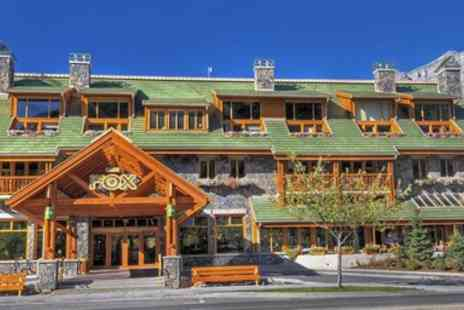 Fox Hotel & Suites - Banff Stay for 2 with Hot Springs Passes - Save 0%