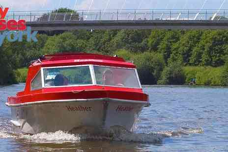 City Cruises - One Hour Self Drive Boat Hire - Save 25%