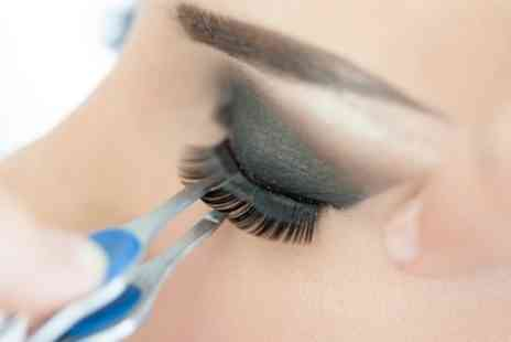 Radiance Clinic - Semi Permanent Eyelash Extensions with Optional Eyebrow Shape and Tint - Save 76%