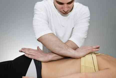 Stefan Vernon Osteopath - Deep Tissue Massage with Spinal Check and Consultation - Save 78%