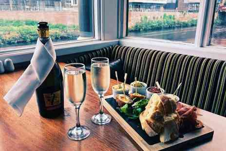 Manchester Marriott Victoria & Albert Hotel - Sharing board with a bottle of Prosecco for two people - Save 50%