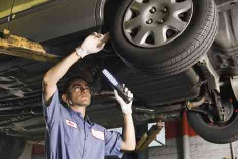M and C Autocare - 54 Point Service with Oil and Filter Change - Save 0%