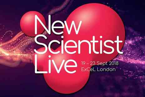 New Scientist Live - Ticket to New Scientist Live 2018 at ExCeL London, A Science Extravaganza for All Ages - Save 20%