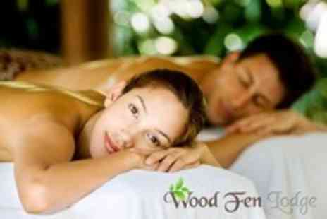 Wood Fen Lodge - Weekend Spa Day With Lunch For Two - Save 80%