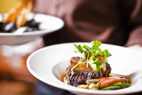 White Bull - Three course meal for 2 at 17th century inn near Preston - Save 44%