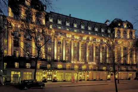The Waldorf Hilton - Musical Themed Afternoon Tea with Optional Prosecco or Champagne - Save 22%