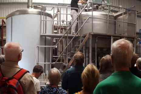 Dorset Brewing - Brewery Tour with Tasting for Two or Four - Save 50%
