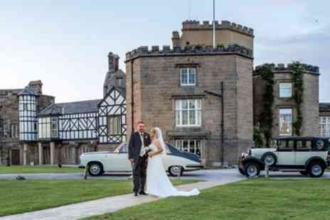 Leasowe Castle Hotel - Wedding Package for 50 Day and 80 Evening Guests - Save 55%