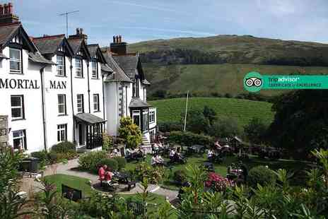 The Mortal Man - One or two night Lake District stay for two people with continental breakfast - Save 41%