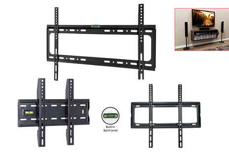 TMD Global - TV wall bracket with built in spirit level - Save 80%