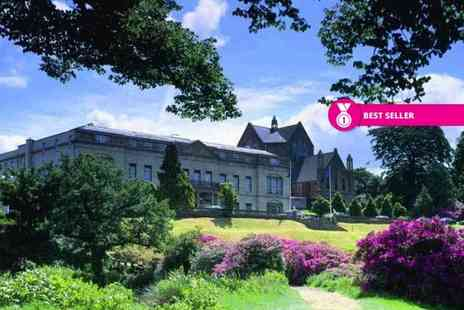 Shrigley Hall Hotel - Overnight stay for two people with three course dinner, breakfast and a choice of two rounds of 18 hole golf per person or spa treatment - Save 46%