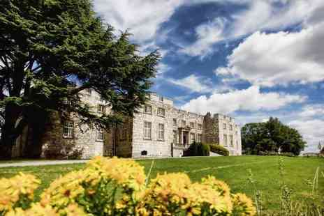 Imagine Spa at Hazlewood Castle - Spa discovery experience for two people including a 30 minute treatment and afternoon tea - Save 44%