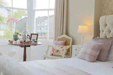 The White Lodge Hotel - One or two night Lake District stay with cream tea, a bottle of Prosecco, breakfast and leisure access - Save 42%