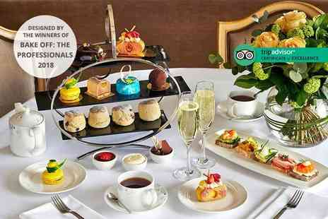 Podium Restaurant - Chocoholic afternoon tea for two or include a glass of champagne each - Save 46%