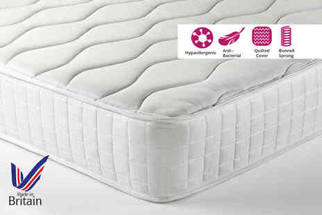 Trusleep - Small single or single, small double or double, king or super size spring and memory mattress - Save 83%