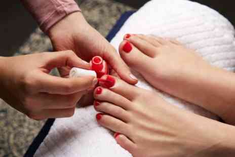 Noor Beauty and Holistic - Gel Manicure or Pedicure or Both - Save 40%