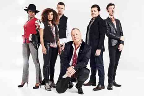 Liz Hobbs Group - Simple Minds & The Pretenders in Newark - Save 50%