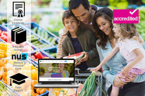 Harley Oxford - Online accredited family health & nutrition course - Save 92%