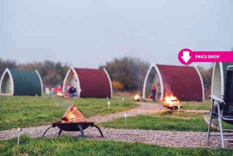 Stanley Villa Farm Camping - One or two night glamping stay for a family of up to four - Save 51%