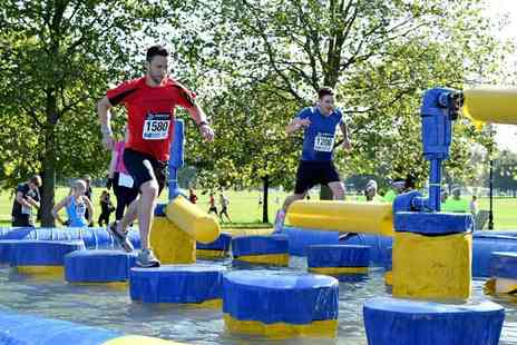 Rough Runner - Entry for one or team of four to the Rough Runner 2.5km obstacle event - Save 53%