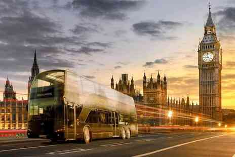 Bustronome - Six course gourmet dining experience aboard a double decker bus - Save 53%