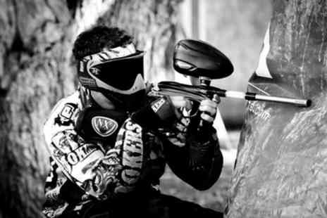 Paintball Challenge - Paintball Experience with 100 Paintballs Each and Light Lunch for Up to 20 - Save 0%