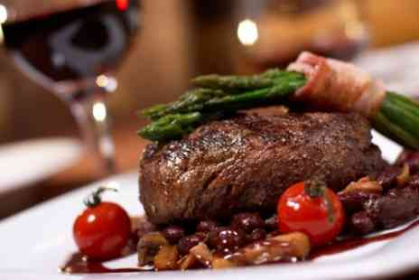 Ambassadors Bloomsbury Hotel - 10oz Rib Eye or Sirloin Steak with Glass of Prosecco for Up to Four - Save 40%