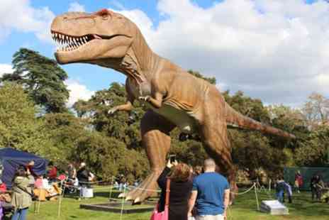 Jurassic Kingdom - Ticket to Jurassic Kingdom on 15 to 27 August - Save 31%