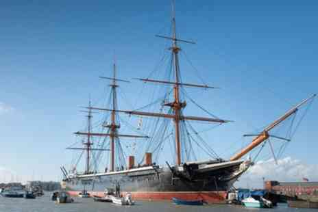 Portsmouth Historic Dockyard - Annual Pass, Full Navy Ticket for One or Two - Save 37%