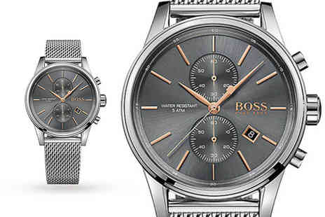 Hip Watches - Mens Hugo Boss HB1513550 stainless steel watch - Save 54%