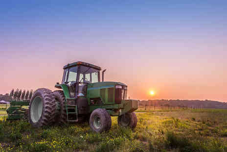 Blyth Activity Centre - Tractor trail driving experience for one person - Save 34%