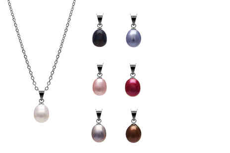 Lily Spencer London - Pack of seven imitation freshwater pearl pendant necklaces - Save 91%