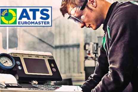 ATS Euromaster - Air Conditioning Recharge with Optional Antibacterial Treatment - Save 29%