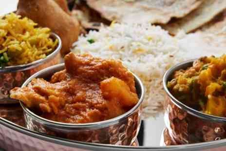 Taste Of India - Two Course Indian Meal for Two or Four - Save 50%