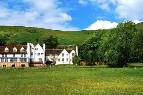 Losehill House Hotel & Spa - 2 AA Rosette lunch for 2 with Peak District views - Save 30%