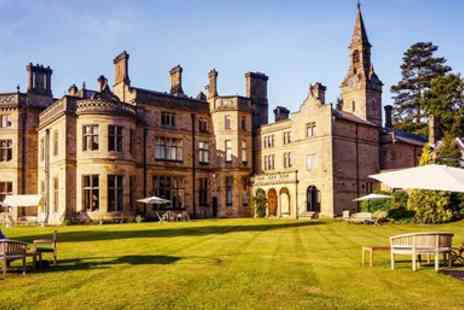 Pale Hall Hotel - Overnight 5 star Victorian mansion stay in the Dee Valley - Save 0%