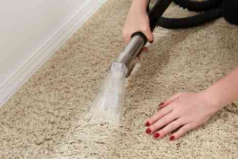 Authentic Five Star Cleaners - Carpet Cleaning for Up to Four Rooms and Hallway or Stairs - Save 44%