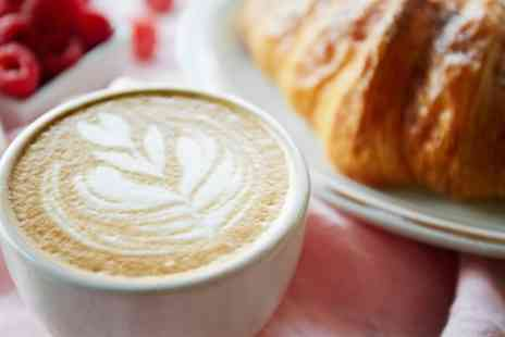 The Old Station Cafe - Hot Drink and Cake for One, Two or Four - Save 38%