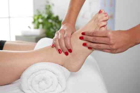 Maries Beauty - 60 Minute Reflexology Session or 45 Minute Reflexology Session with 25 Minute Massage - Save 47%