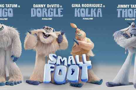 BFI - Smallfoot Preview Screening at the BFI, See the Newest Animation Blockbuster Before Anyone Else - Save 20%
