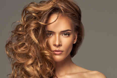 Exquisite Hair & Beauty - Half or full head of highlights with wash, cut and blow dry - Save 73%