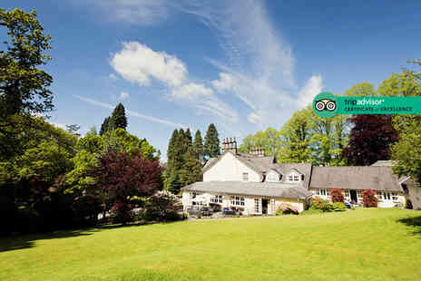 Briery Wood Country House Hotel - One or two night Lake District stay for two people with breakfast and cream tea or include a Windermere cruise - Save 46%